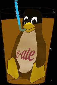 E-ALE Tux Logo